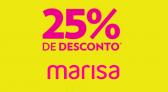 Cupom Marisa 25% de desconto