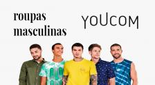 Descontos YouCom Moda Masculina: até 65% OFF