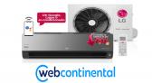 Descontos WebContinental em Ar Condicionado até 35% OFF