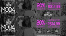 Cupom Havan Moda, 20% de desconto + Frete Fixo