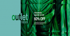 Outlet Natura até 60% de desconto