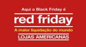 Red Friday Americanas até 80% de desconto