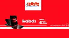 Economize até 50% em Notebooks no Saldão