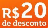 Cupom de desconto Shoptime R$20 OFF