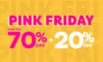 Pink Friday Marisa até 70% OFF + 20% OFF