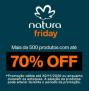 Natura Friday até 70% de desconto