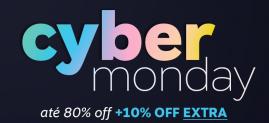 Cyber Monday OQVestir até 80% OFF + 10% extra