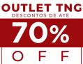 Outlet na TNG até 70% de Desconto