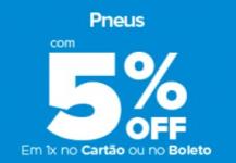Seleção de Pneus Carrefour com 5% OFF