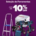 Ferramentas no Carrefour até 10% OFF