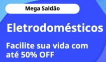 Saldão Aliexpress, eletrodomésticos até 50% OFF
