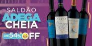 Saldão até 54% OFF na Vinho Fácil