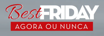 Até 50% OFF na categoria de Best Friday
