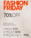 Fashion Friday Iódice até 70% OFF