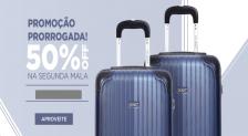Cupom Bagaggio 50% de Desconto na Segunda Mala