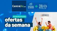 Cupom Central Ar: R$100 de desconto + Frete Grátis