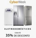 Eletrodomésticos até 35% com a CyberWeek