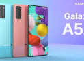Samsung publica informações sobre Galaxy A52 e Galaxy A72