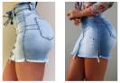 Saias Modab Jeans Modeladoras à partir de R$199,00