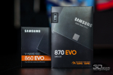 O novo SSD 870 Evo da Samsung traz velocidades mais rápidas